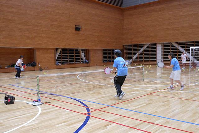 パドルテニス教室