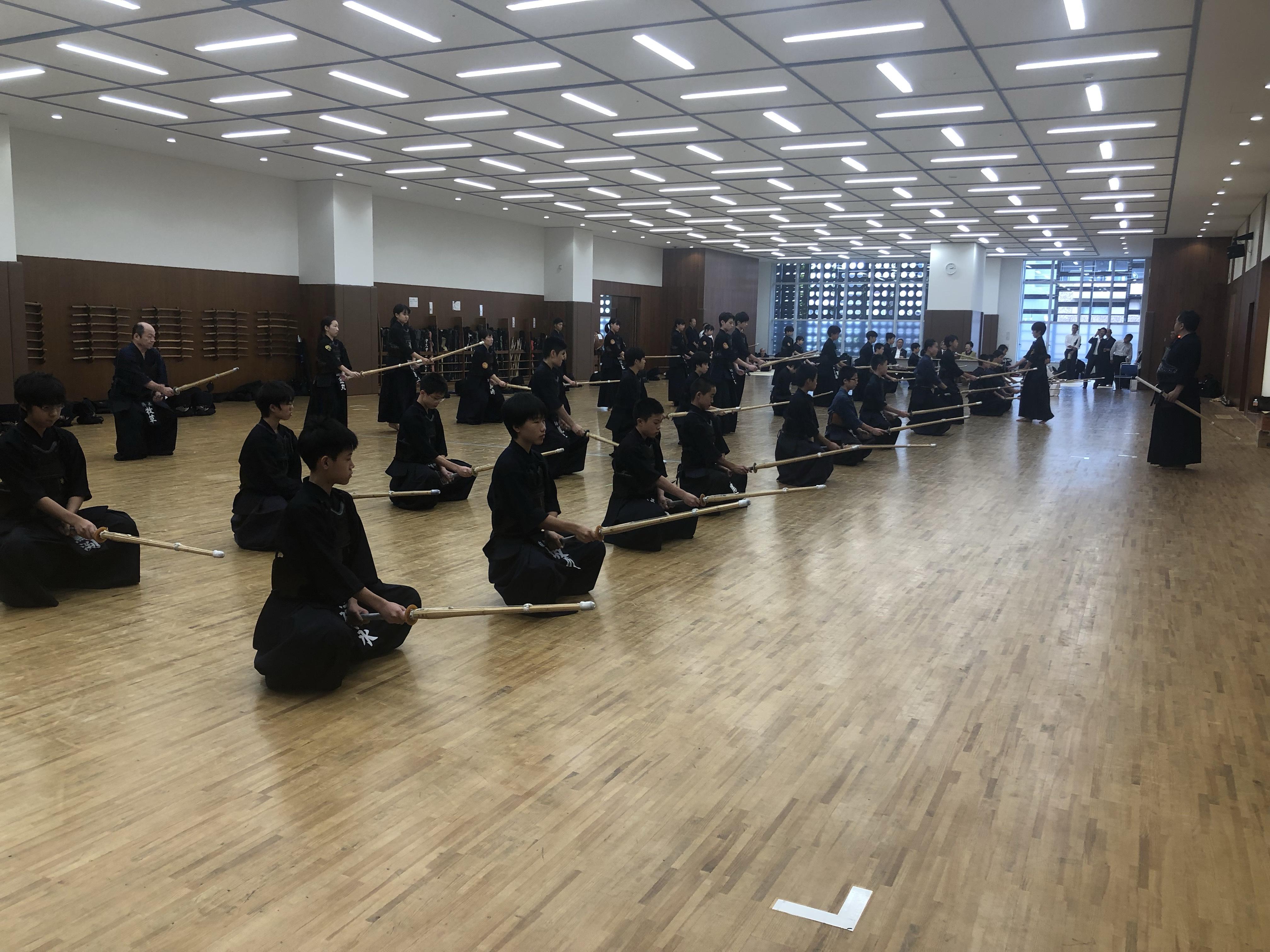 小豆島剣道交流会の様子をアップしました。